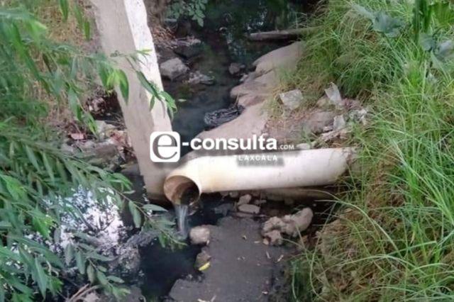 Arrojan aguas residuales en zanja del Chatal, piden intervención de las autoridades