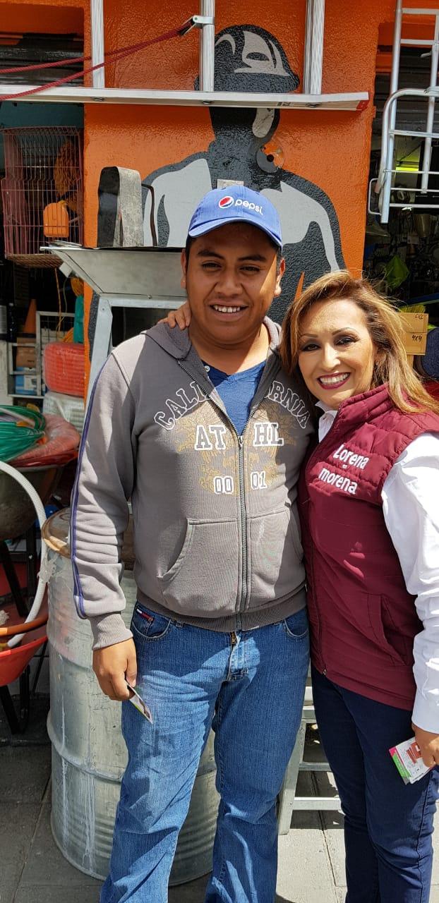 Lorena agradece a ciudadanos y se compromete a trabajo incansable