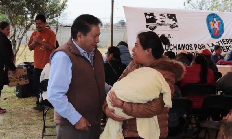Confía Joel Molina que ejecutivo estatal dará seguimiento a planteamientos de partidos
