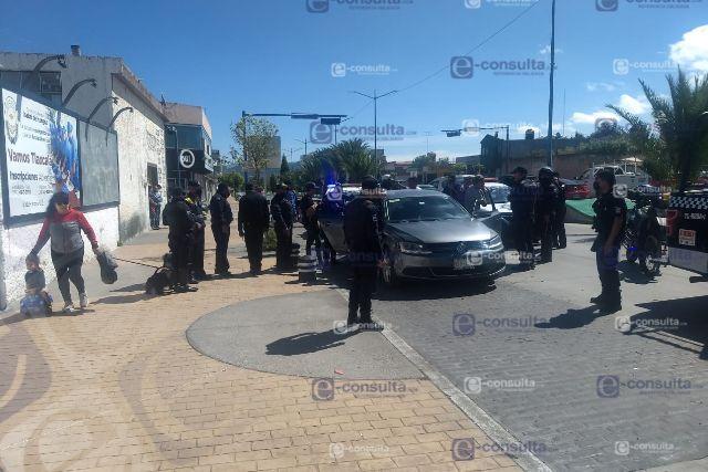 Detienen a implicados en robo a hospital particular de Apizaco