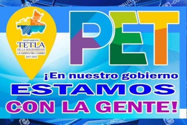 Arrancará este lunes reclutamiento de personal para PET en Tetla