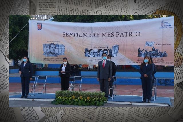 En SPM conmemoran la Gesta Heroica de los Niños Héroes en SPM