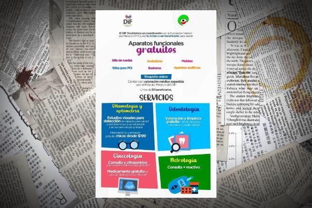 Invita DIF Xicohtzinco a recibir aparatos funcionales gratuitos