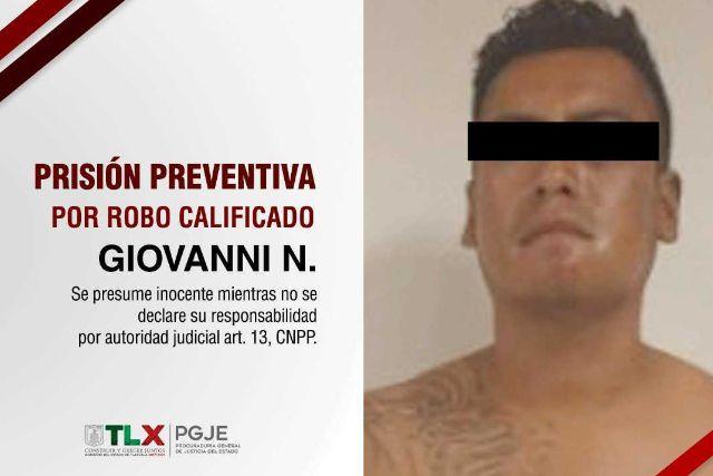 A prisión preventiva ladrón de transporte público: PGJE