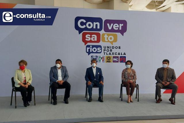 Unidos por Tlaxcala anuncia programa virtual de conversatorios