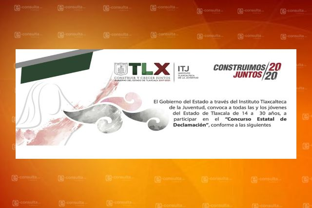 Invita ITJ a jóvenes a participar en el Concurso Estatal De Declamación