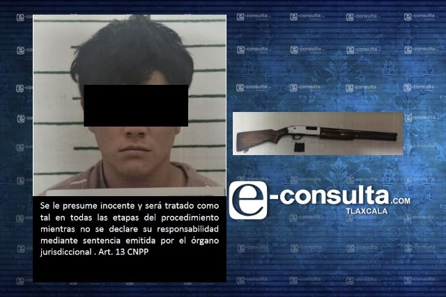 Obtiene FGR vinculación a proceso contra una persona por portación de arma de fuego