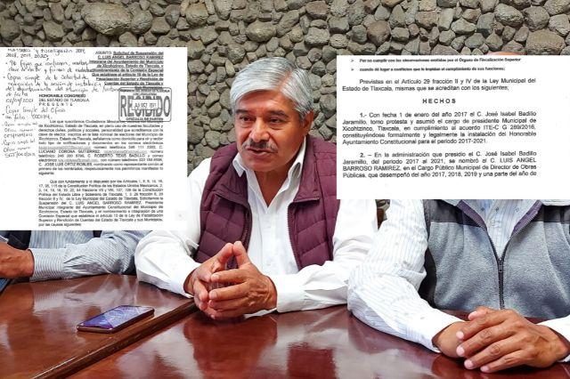 Luciano Corona pretende asumir el cargo de alcalde de Xicohtzinco