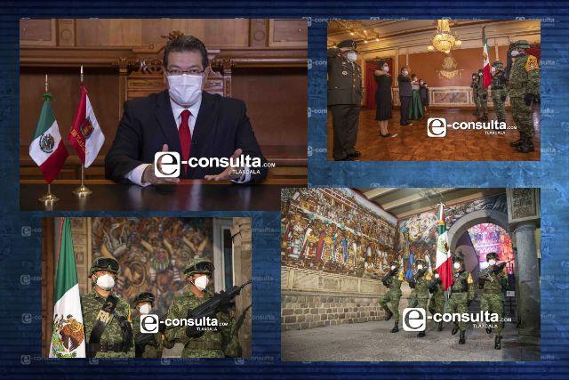 Tlaxcala seguirá dando resultados a la altura de su historia: Marco Mena