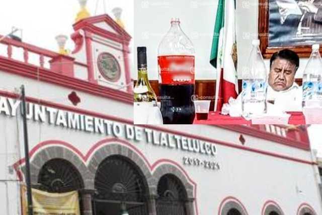 Revientan trabajadores de Tlatelulco contra el Picapiedra, los explota