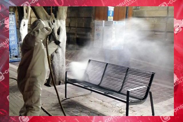 Sanitización no erradica, sino esparce el virus, falsa idea de Villareal: FFR