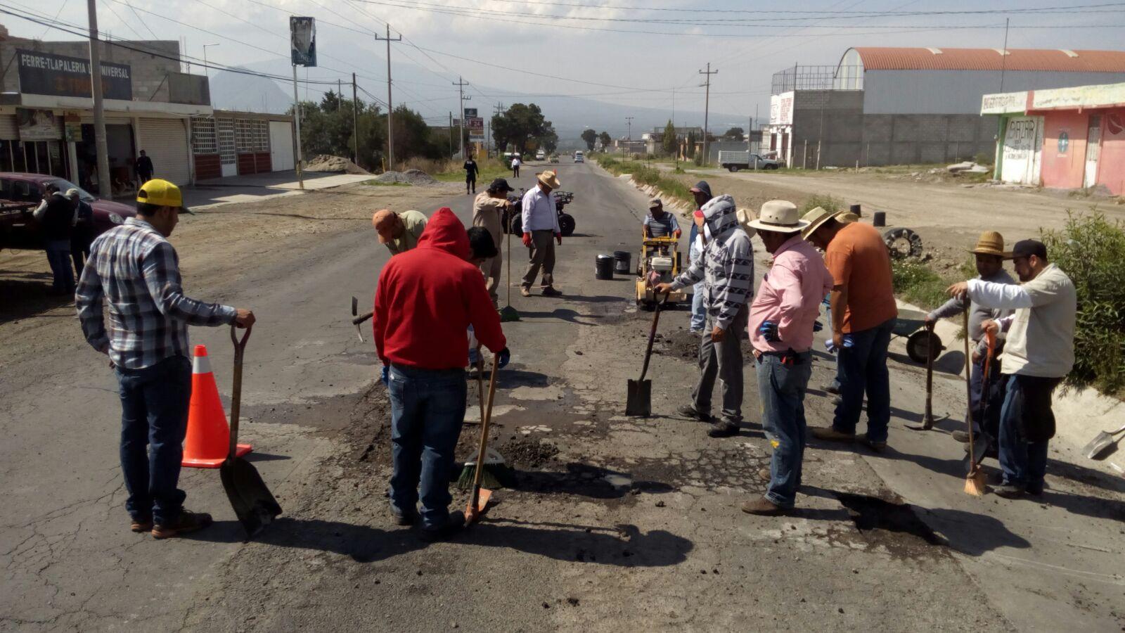Inicia Segunda Jornada de Trabajos en Santa Cruz Tlaxcala
