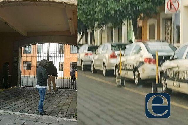 Policías se manifiestan por Lorena y los castigan