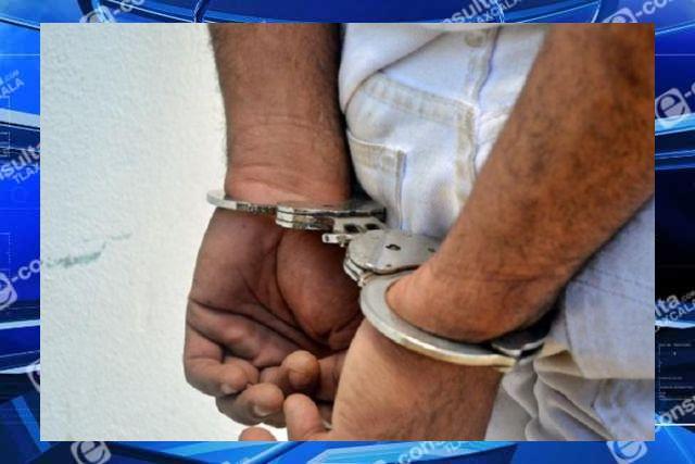 Presunto ladrón fue golpeado en Tepetitla; policía logra resguardarlo