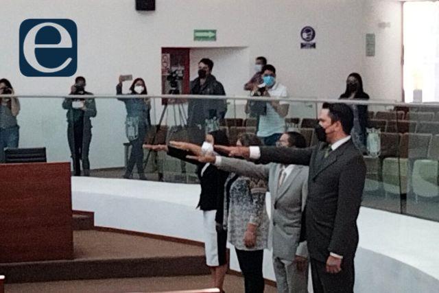 Diputados nombra a cuatro directores del Congreso del Estado