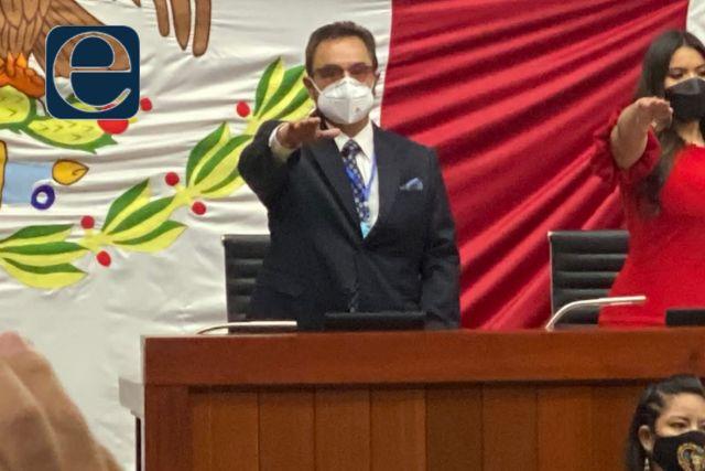 Toma protesta Pepe Temoltzin como Diputado de la LXIV Legislatura