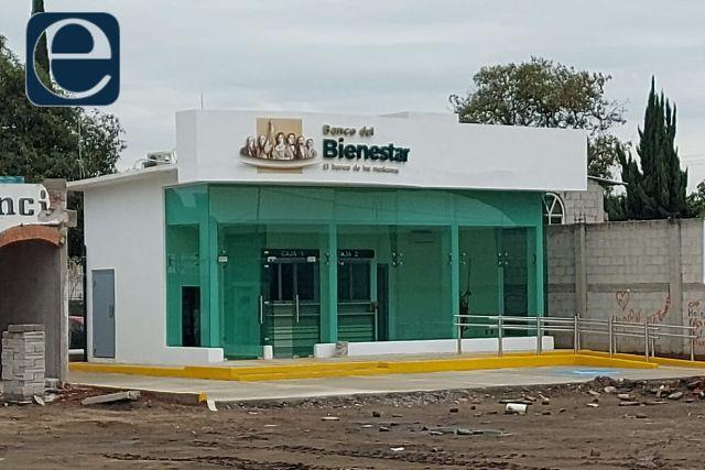 Una realidad la construcción del Banco del Bienestar en Quilehtla