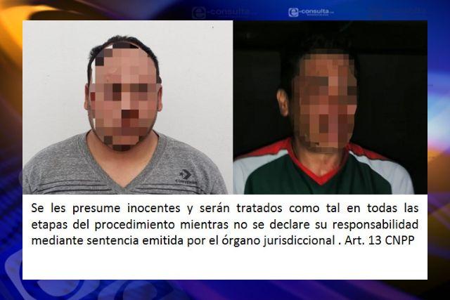 Obtiene FGR vinculación a proceso contra dos personas por robo y secuestro exprés