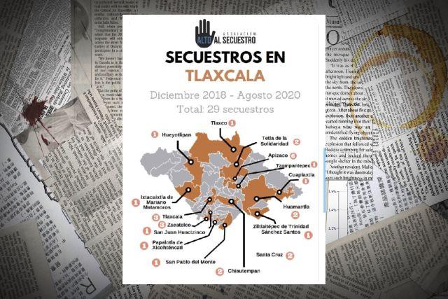 29 secuestros en Tlaxcala; autoridades sólo reconocen 11