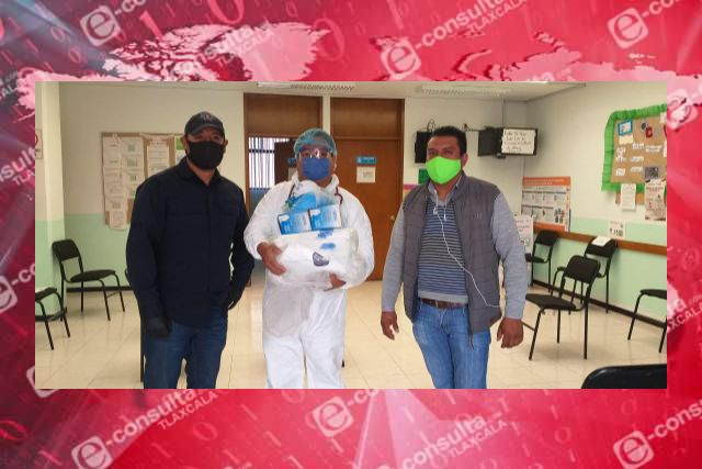 Entregan equipo sanitario a centro de salud de Ixtenco