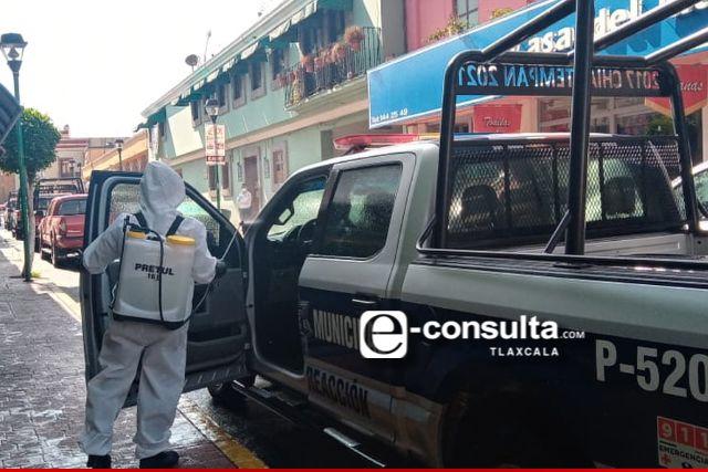 Una docena de policías de Chiautempan dieron positivo al Covid – 19