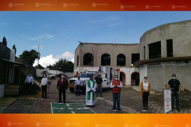 Ayuntamiento de Tecopilco pone en marcha un nuevo camión recolector de basura