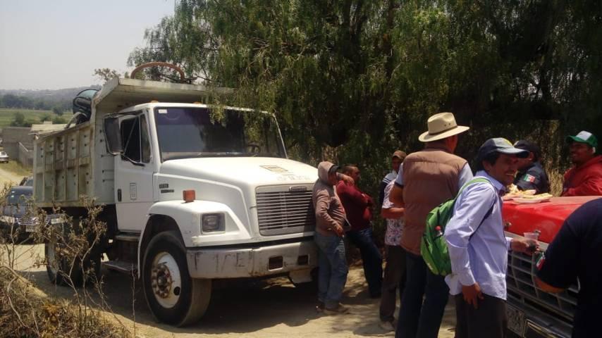 Usos y costumbres mantiene el control de agua potable en Santa A. Teacalco