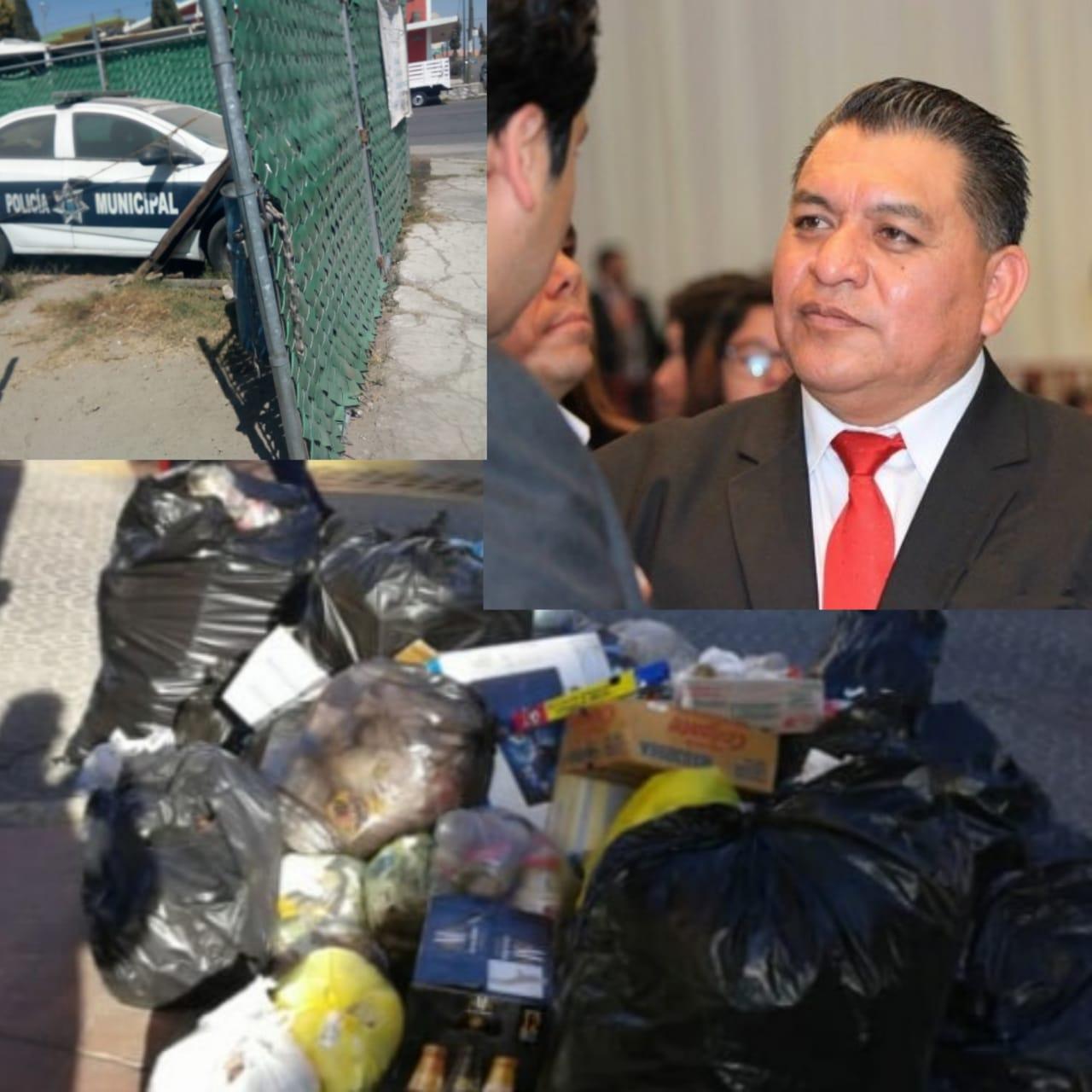 Apetatitlán convertido en un cochinero por el alcalde amoroso