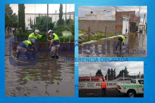 Brinda CEPC apoyo a la población tras lluvia en la capital