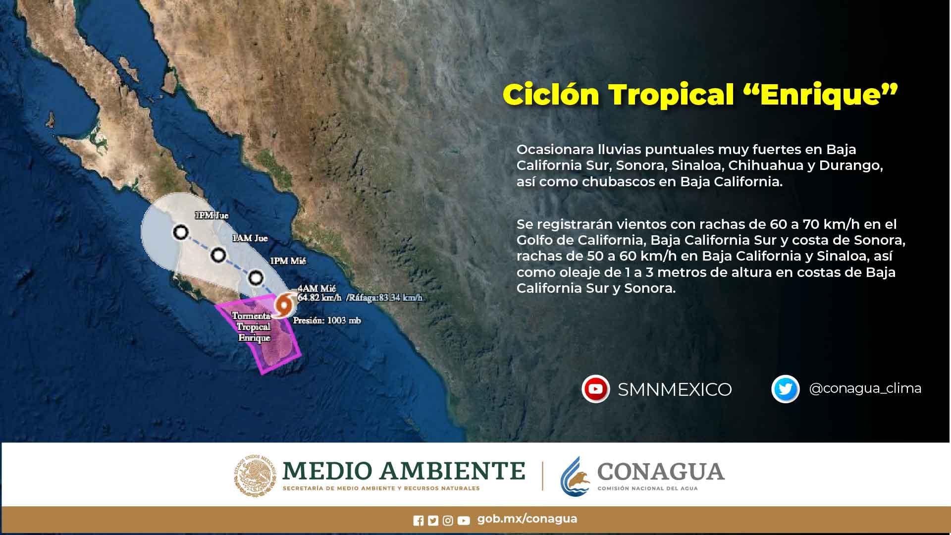 Continuarán las lluvias en Tlaxcala este miércoles