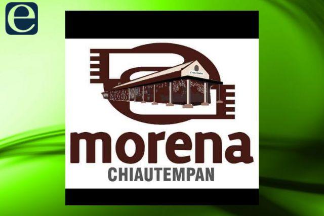 Se deslinda MORENA Chiautempan de manifestación de mujeres morenistas y respalda a Gustavo Jiménez