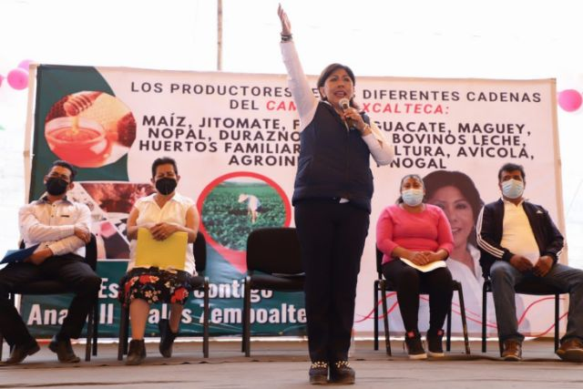 Anabell asumió 10 compromisos para impulsar la producción del agro tlaxcalteca