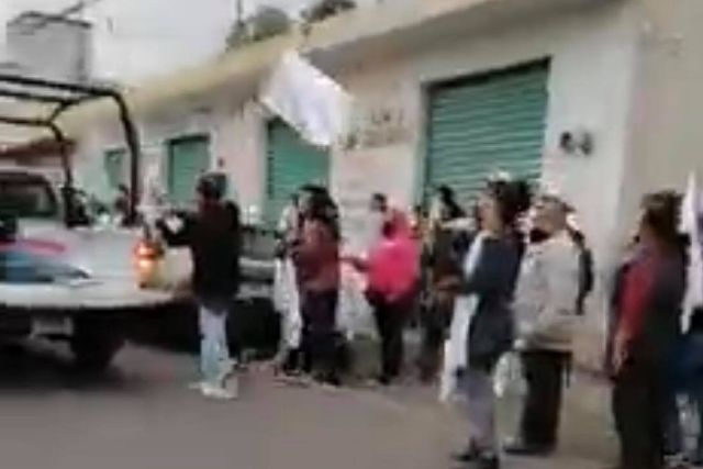 Se desata violencia política en Quilehtla; equipo del PAC es agredido