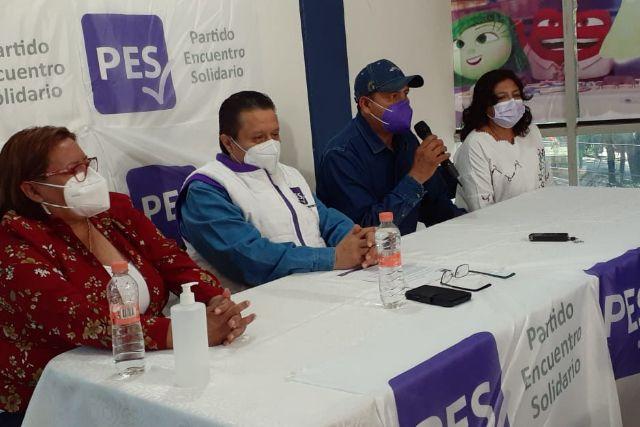Balazos no detendrán a nuestro candidato de Santa Apolonia Teacalco: PES