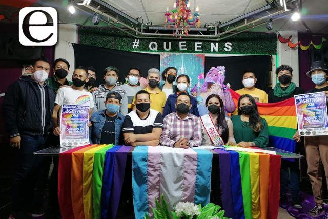 Anuncian marcha LGBTTTIQ+; autoridades electas deben atender pendientes