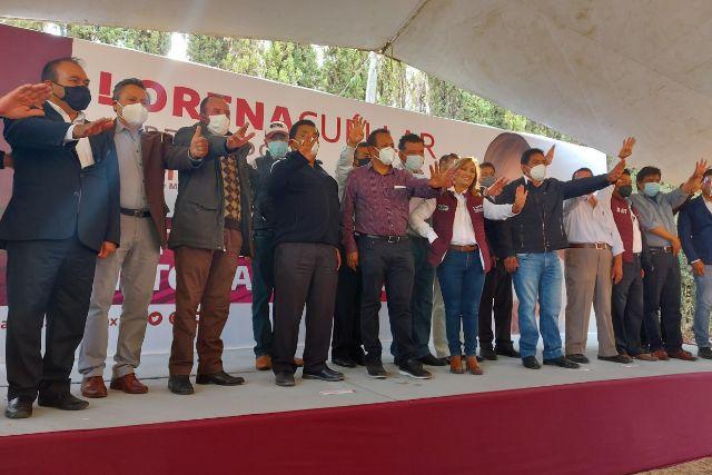 Exalcaldes del PRI, PRD y MC hacen pública su adhesión al proyecto de Lorena Cuéllar