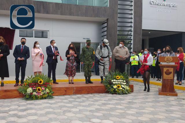 Entregan nuevo edificio para la Comisaría de Seguridad de Chiautempan