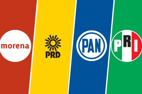 Multan a partidos políticos por 392 mil 575.88 pesos