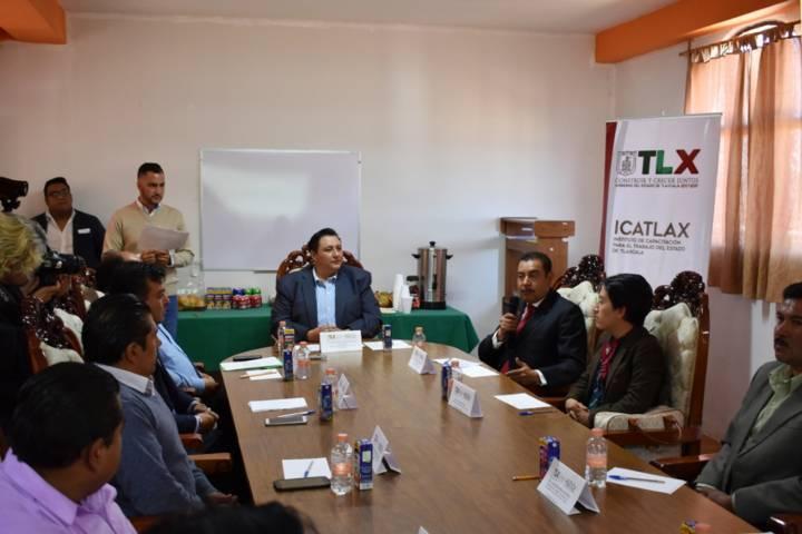 Tecopilco fue sede del proyecto para impulsar a jóvenes a través de la capacitación