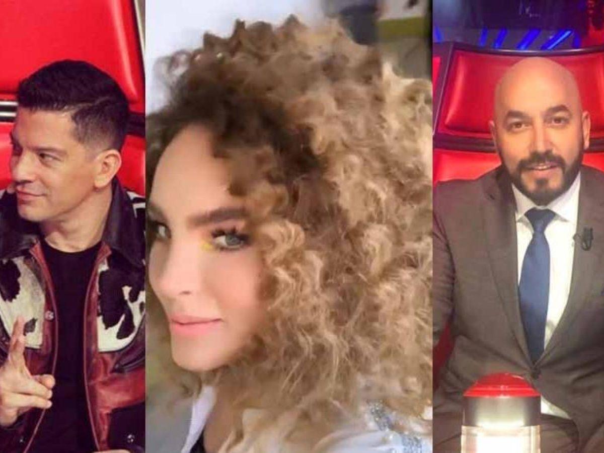 Los coaches de la Voz le hacen bullying a Belinda tras peinado