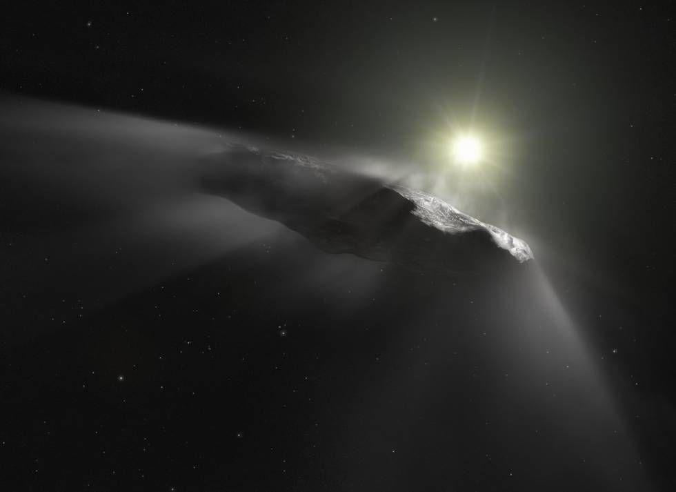 Afirman que está por llegar una nave alienígena a la Tierra