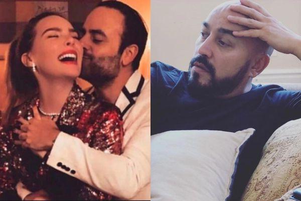 Fotografían a la cantante Belinda muy romántica con otro hombre