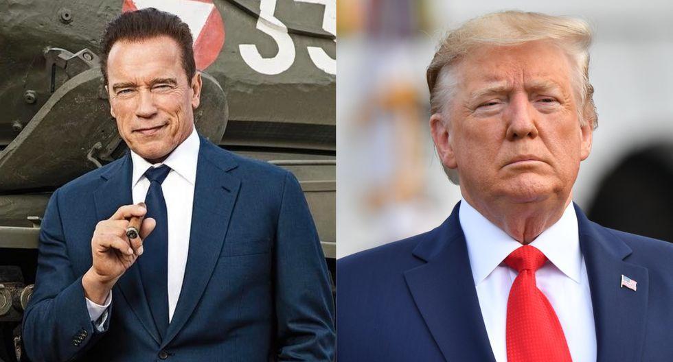 Asegura Schwarzenegger que Trump está enamorado de él