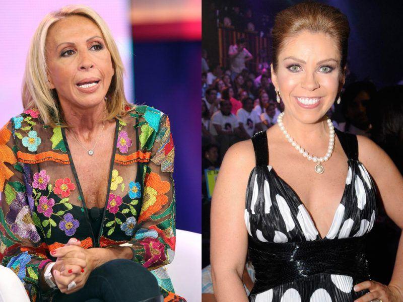 Tras rivalidad Laura Bozzo da pésame a Rocío Sánchez Azuara