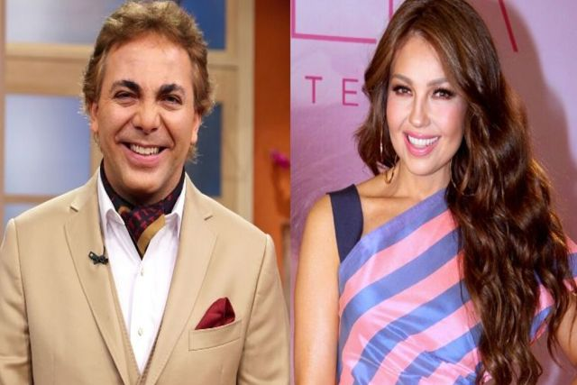 Cristian Castro presume haber tenido un romance con Thalía