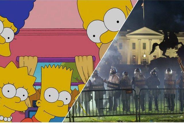 Predicen los Simpson en episodio el apagón de luces en la Casa Blanca