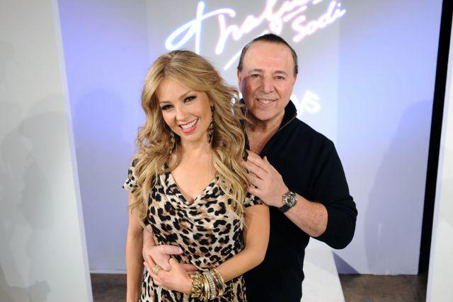 Aseguran que Thalía y Tommy Mottola podrían ser portadores de covid-19