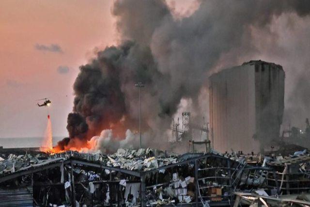 Aseguran que la explosión en Beirut fue un atentado