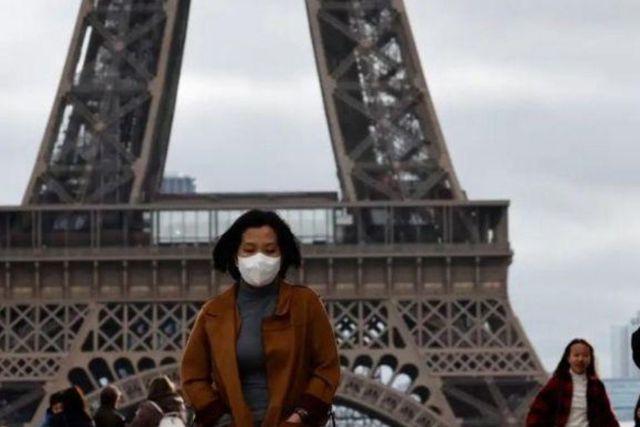 Entra en alerta máxima París tras haber rebasado los límites por el Coronavirus