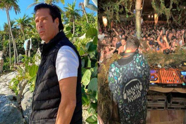 Roberto Palazuelos realiza fiesta Covid en su hotel de Tulum pese a las restricciones